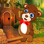 Play Games4King Bear Cub Rescue