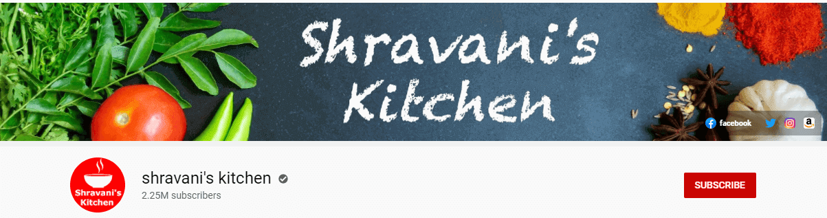 best south indian cooking channels on youtube