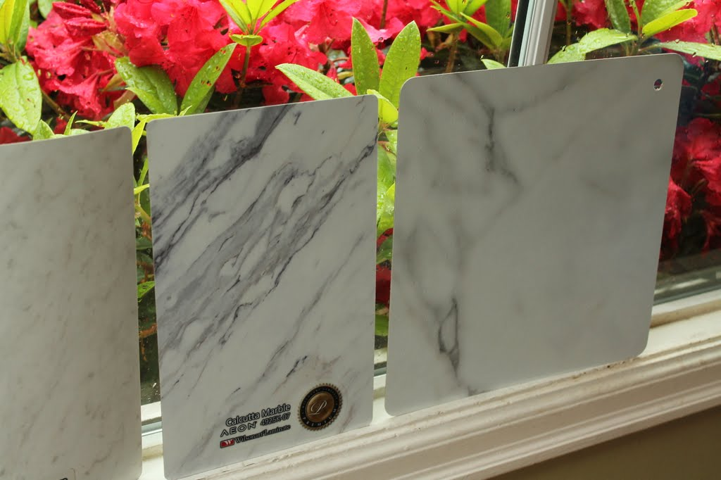 Here S The Callacatta And Bianca Luna Again With Travertine Silver In Middle