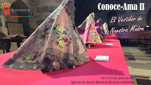 En agosto exposición sobre el patrimonio en torno a la Virgen de La Hiniesta