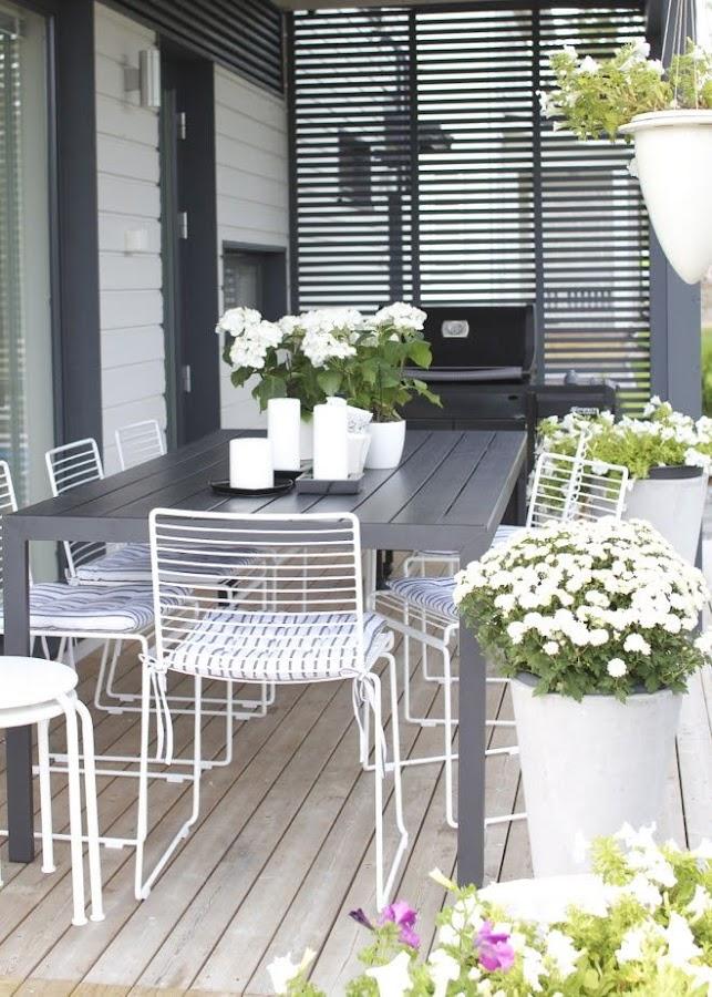 Decorar terraza con pequeños detalles