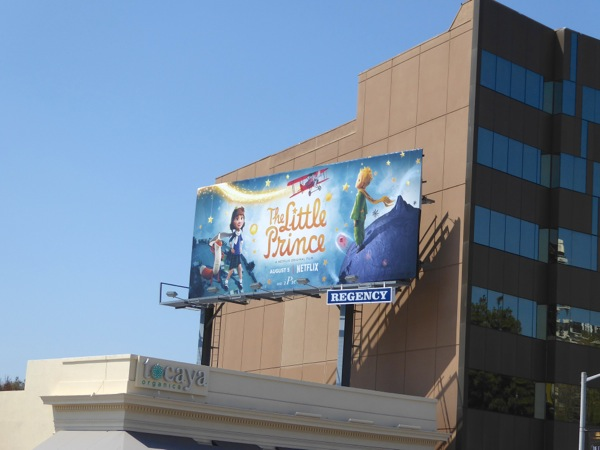 Little Prince Netflix film billboard