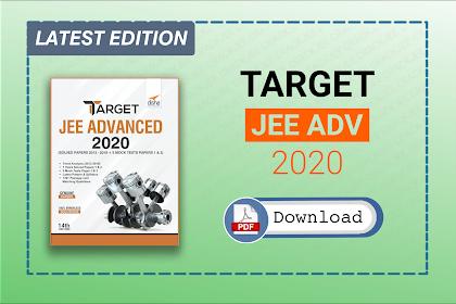 [Pdf] Download Disha Target JEE Advanced 2020 | Latest Edition