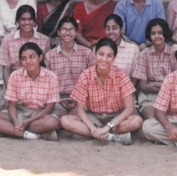 Guess the actress in school dress