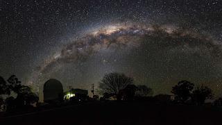 La Vía Láctea en el Hemisferio Sur