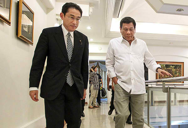 Japan promises to support Philippine maritime protection