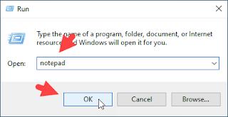 Cara Mengunci Folder Dengan Notepad Gambar 1