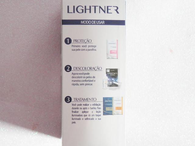 kit lightner diamond - banho de lua