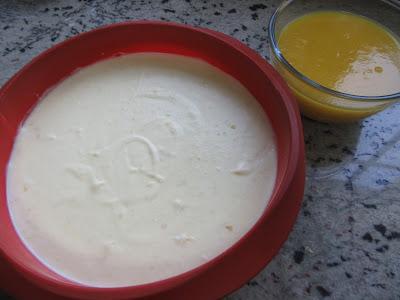 Tarta mousse de mango Thermomix