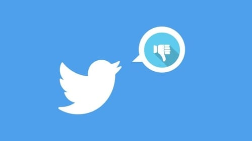 Twitter is considering adding a dislike button