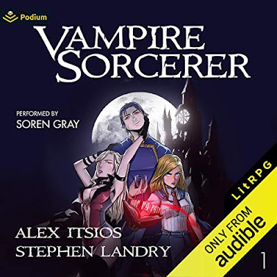 Vampire Sorcerer 1 Audio Book is out! Featured Image