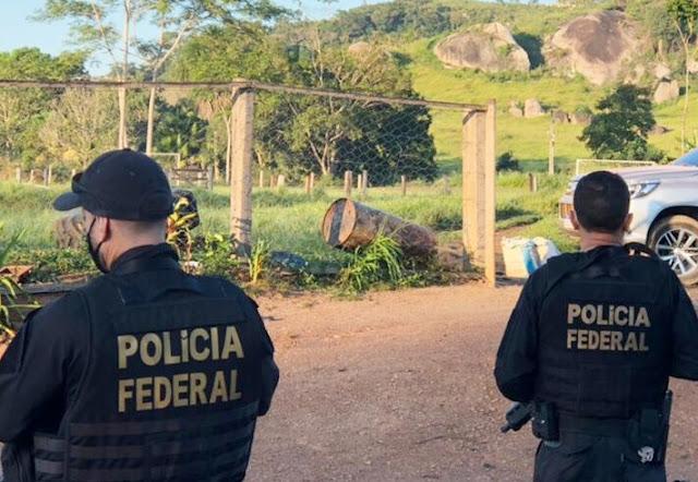 PF desencadeia operação contra crimes ambientais em duas reservas indígenas