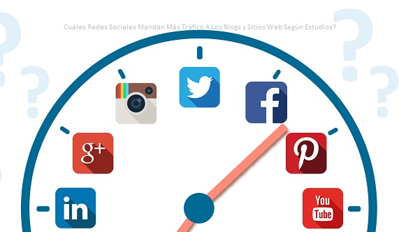 Redes Sociales Que Mandan Más Tráfico A Sitios Web