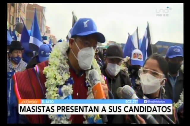 Luis Arce asegura que ganarán las elecciones y pide control del voto para evitar el fraude