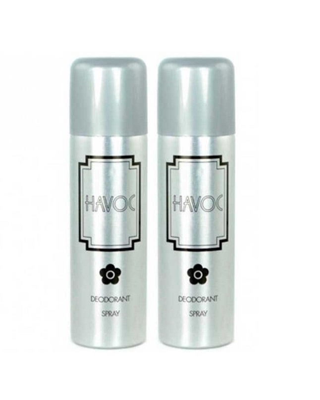 Pack Of 2 - Havoc Silver Body Spray 200 ml