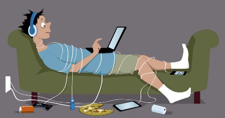 Kecanduan internet (Pengertian, Aspek, Jenis, Dampak dan Faktor yang Mempengaruhi)