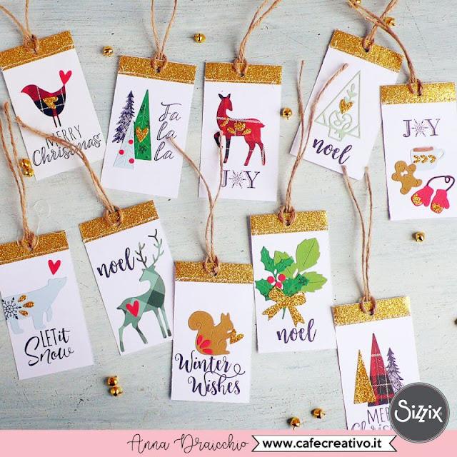 Natale fatto a mano: Etichette di Natale personalizzate