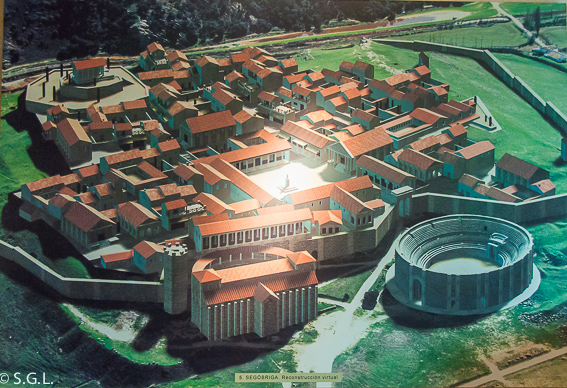 Reconstruccion virtual de Segobriga. Ciudad romana de Cuenca