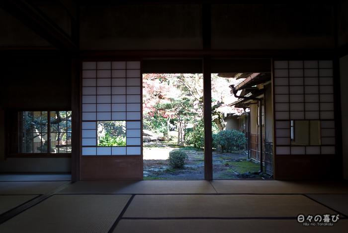 Intérieur du salon de thé de Kunenan, Kanzaki, Saga