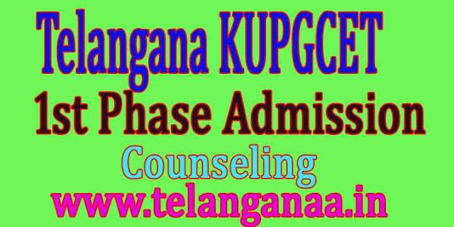 KUPGCET 2019 Admission Consulting Data Certificate Web Options Schedule Seat Allotment