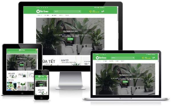Template blogspot bán hàng miễn phí bán hoa tươi