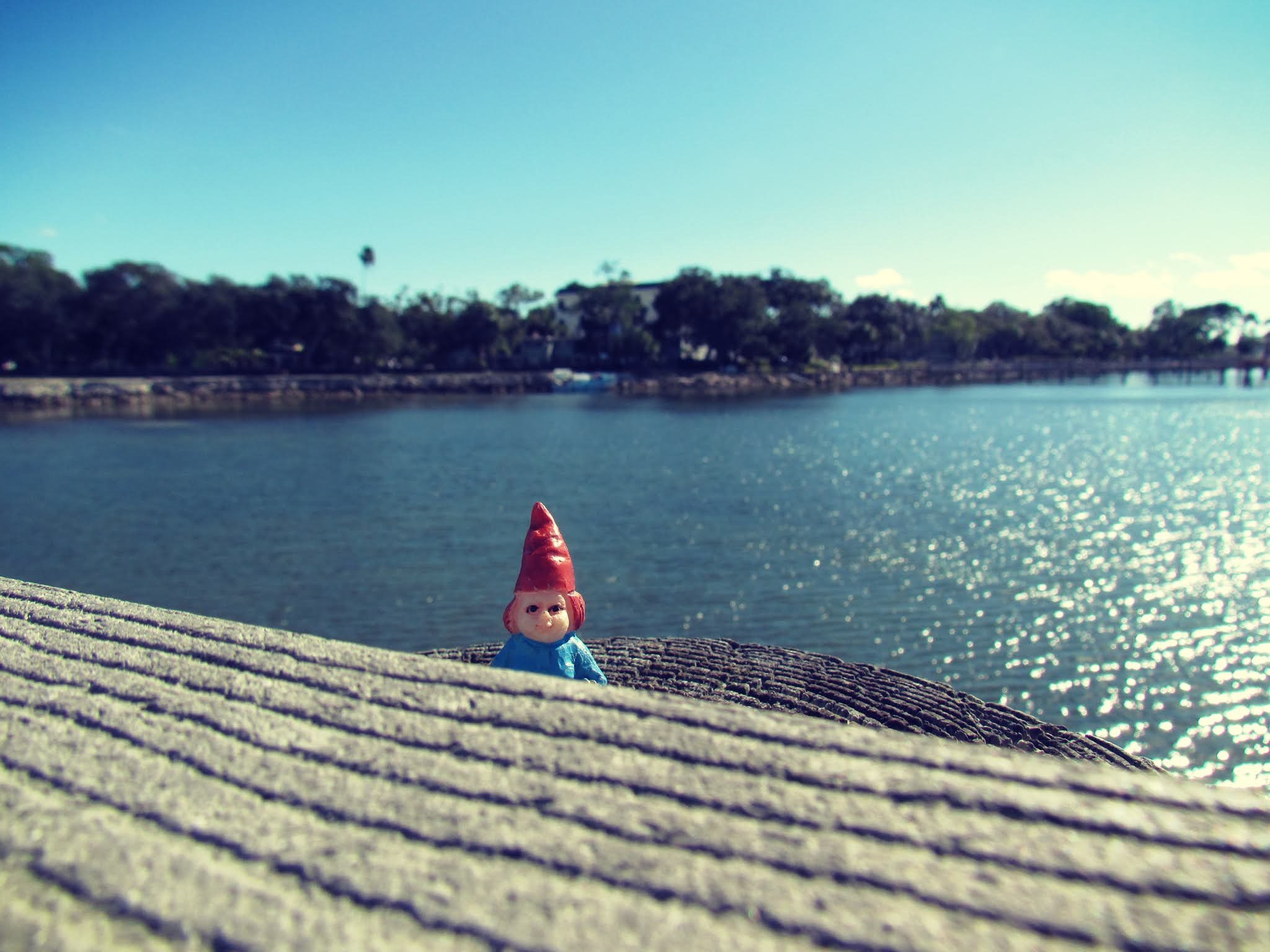A tiny gnome witch doll + gnome girl figurine, girls novelty toys, toy figurines, sea witch hat