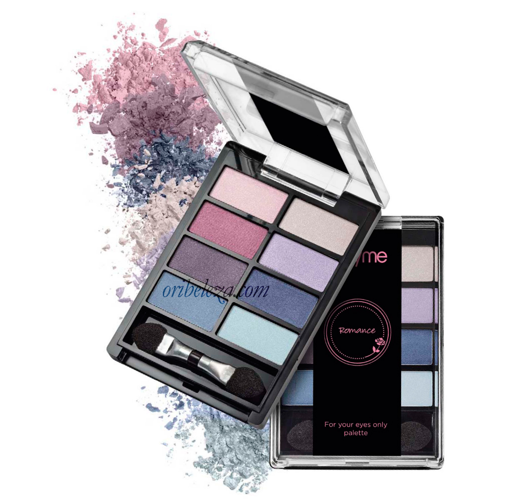 Paleta de Sombras For Your Eyes Only Romance Very Me 31879 - Oriflame
