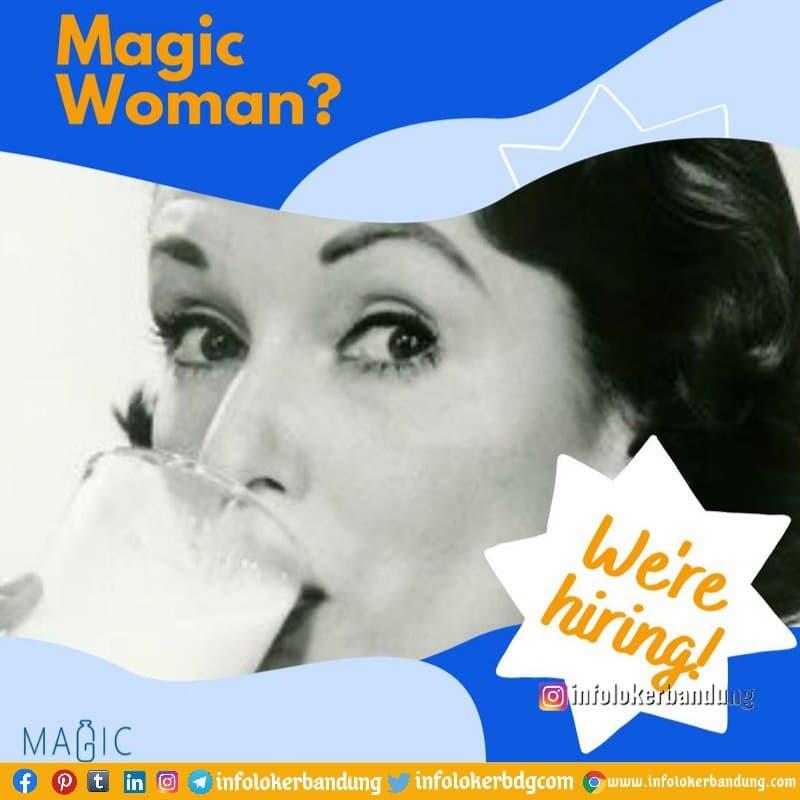 Lowongan Kerja Penjual Susu Keliling Magicmilk Bandung Februari 2021