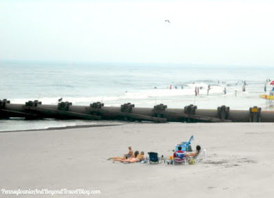 Beach in Wildwood New Jersey