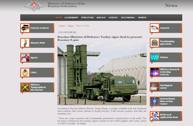 Turkey signs deal to procure Russian S-400