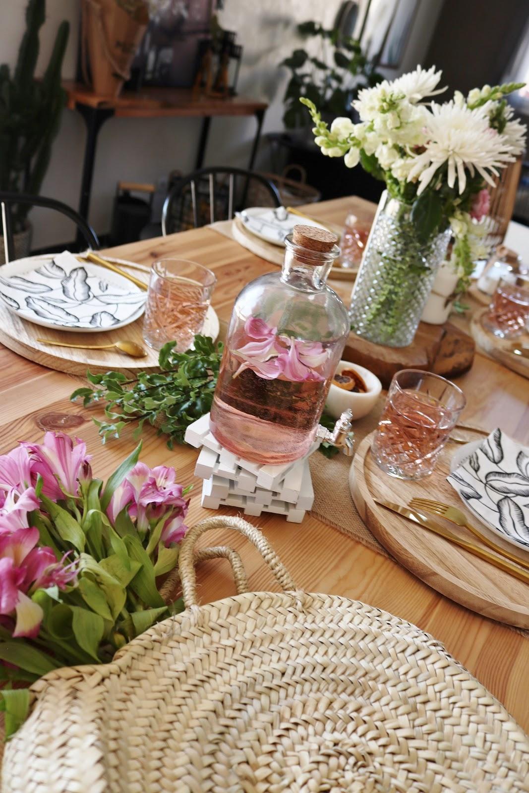 Deco De Table Bougie goÛter d'ÉtÉ : dÉco de table - pauline dress - blog mode