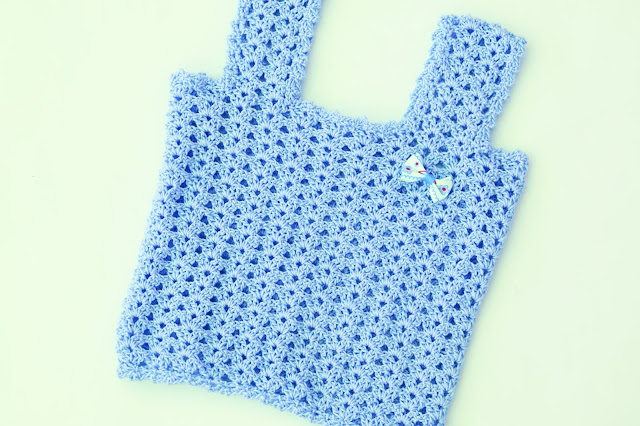 2 - Crochet Camiseta de tirantes a crochet sencilla y fresca por Majovel Crochet