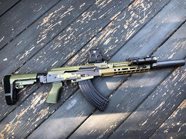Chromcoarms-HRT-Inspired-AK-Green-Tactical-Short