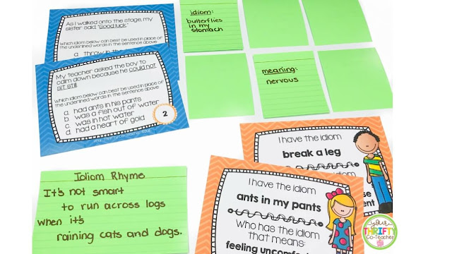 Looking for some engaging idiom activities to use when teaching idioms? Here are a few ideas.