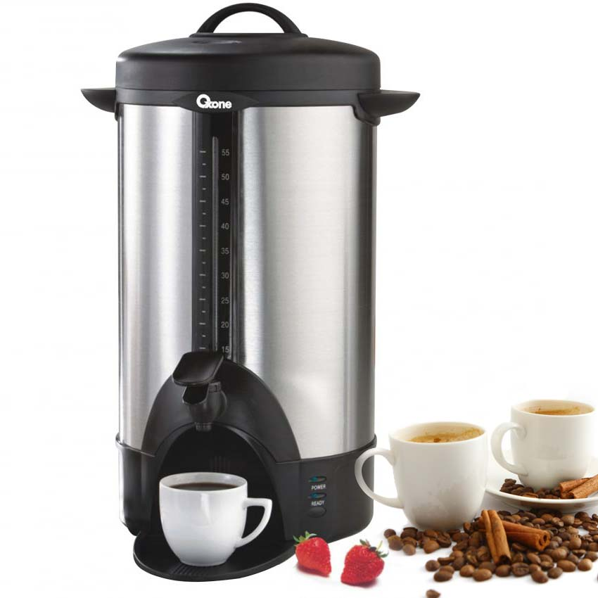 OX 202 Oxone 55 Cups Coffee Maker Water Boiler