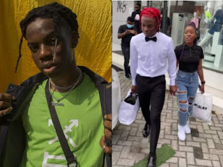 Rema Takes A Female Fan On A Shopping Spree