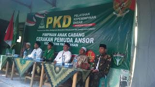 Perkuat Aswaja, PAC GP Ansor Pamekasan Gelar PKD
