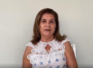 VÍDEO! Em recuperação da Covid-19, prefeita tranquiliza população de Mamanguape