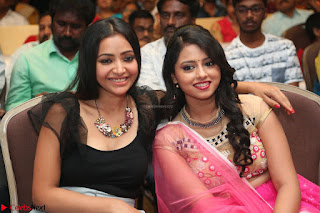 Geethanjali and Swetha Basu at Mixture Potlam Movie Audio Launch Feb 2017 014.JPG