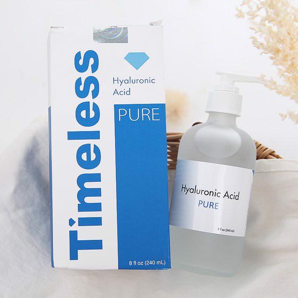 Serum HA bạn vừa pha chế hoàn toàn giống với sản phẩm Timeless Hyaluronic Acid Serum bán trên thị trường