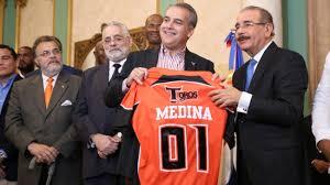 """""""¡Todos somos Toros, celebremos este nuevo triunfo!"""": Danilo Medina felicita a equipo dominicano por victoria Serie del Caribe"""