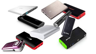 Some Power banks and their capacities.