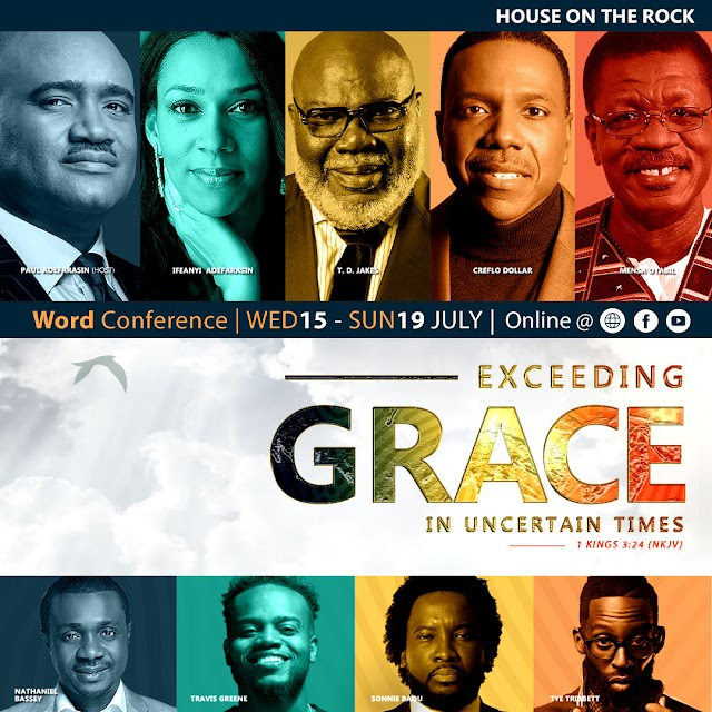 House on the Rock set to Host The Word Conference 2020 With T. D. Jakes, Creflo Dollar, Mensa Otabil And Others Virtually | @HouseontheRock |