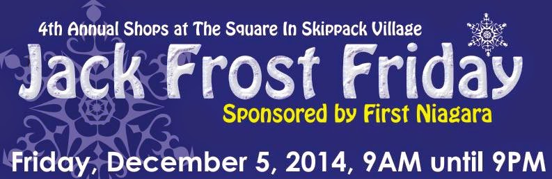Green Wolfs Village Barn Shoppes in Skippack: 2014 JACK FROST FRIDAY in the East Village of