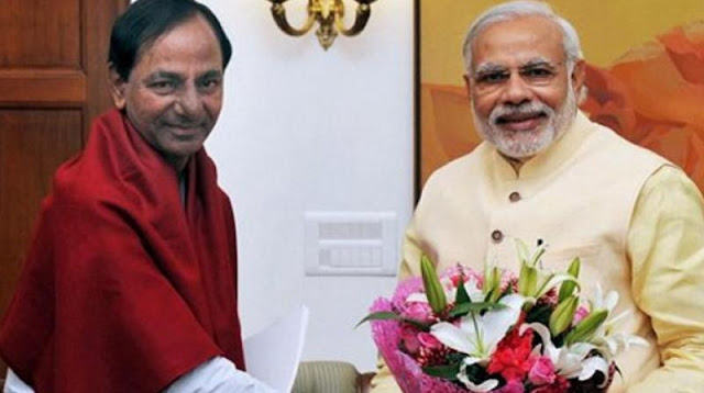 KCR is hopeful that the PM would address on Telangana issues