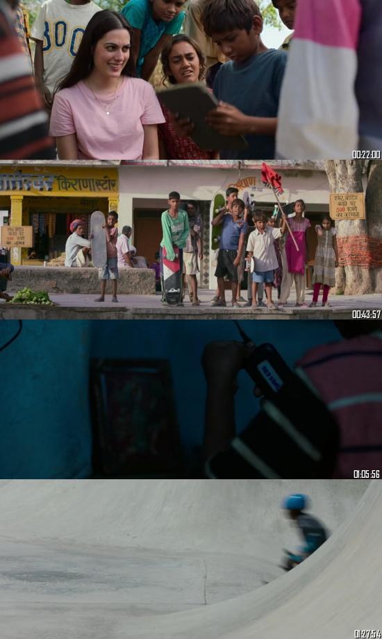 Skater Girl 2021 BRRip 720p 480p Dual Audio Hindi English Full Movie Download