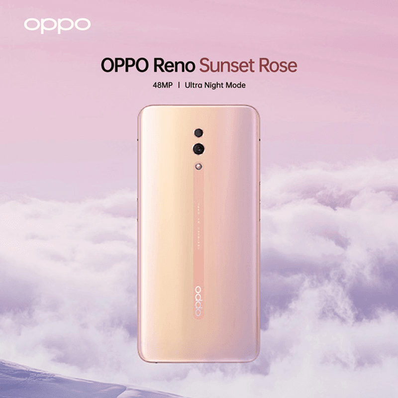 OPPO Reno Sunset Rose to launch in PH soon