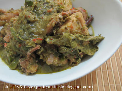 Resep Kari Ayam Hijau Ala Thai (Green Chicken Curry)