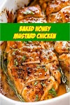 #Baked #Honey #Mustard #Chicken