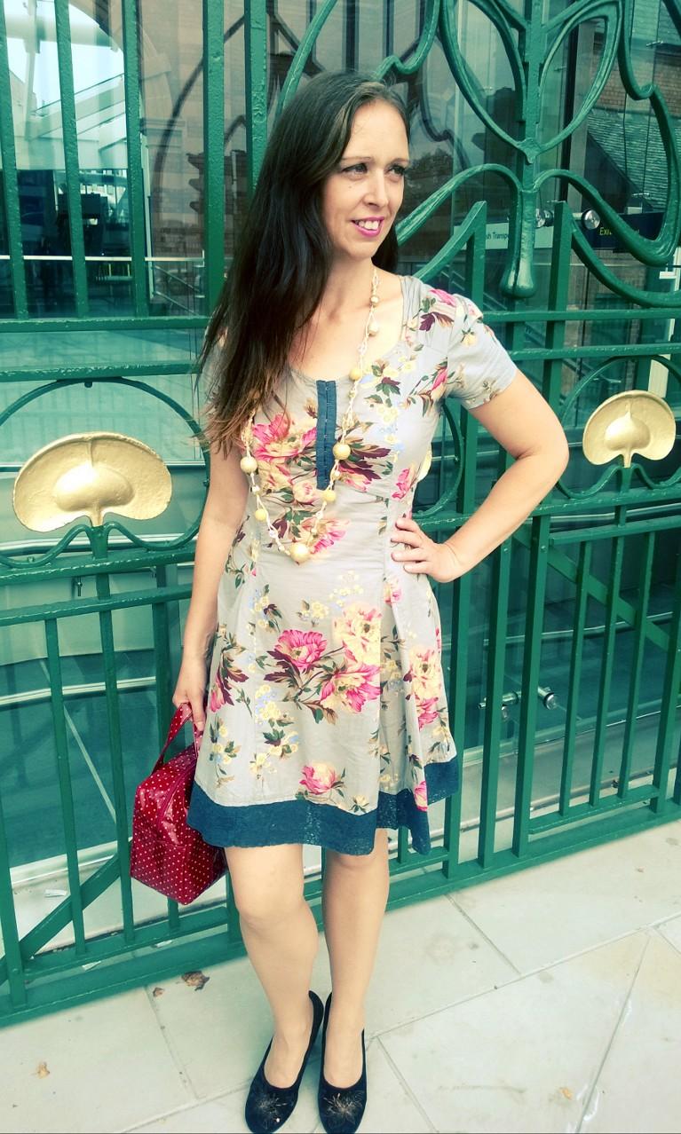 Throwback Thursday Flowered Joe Brown's Dress